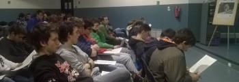 WOLFALPS nelle scuole a Bergamo